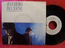 Zucchero/PAUL YOUNG-SENZA UNA DONNA/MAMMA German Londra 45