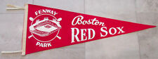 Vintage Boston Red Sox Felt Baseball MLB Pennant Fenway Park