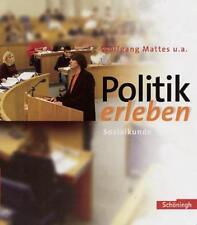 Politik erleben, Sozialkunde, ISBN 978-3-14-023825-0