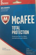 Download McAfee Total Protection 2018 One User 12 Month - Latest Updates