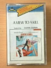 DURAN DURAN View to A Kill RARE INDONESIA Team Records CASSETTE TAPE