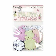 FAIRY TALES 30 Paper Blossoms Flower Heads Card Making Craft Embellishments