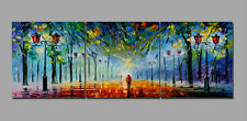 3pc Abstract Wall Decor Art Oil Painting on Canvas NO frame Trees Scenery SL175