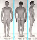 SHINY THICK & RIPPED ~1940s 5x7 NAVY ID PHOTO NEAR NUDE JOCK SAILOR MAN #4 gay