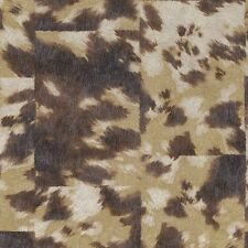 498233 Pop Haut Kuhhaut Beige Braun & Creme Galerie Tapete