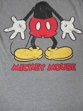 DISNEY MICKEY MOUSE HEADLESS CHARACTER COSTUME -MEDIUM GRAY T-SHIRT-B1193