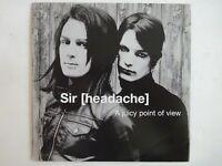 SIR [HEADACHE] : A JUICY POINT OF VIEW ♦ CD Album Promo ♦