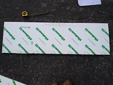 """1/2 inch King Starboard Scrap Piece -WHITE Min Size 24"""" x12"""", Free Shipping!"""