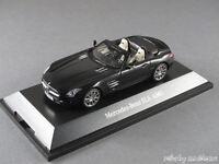 1/43 Schuco Mercedes Benz SLS AMG Roadster 2011 Obsidianschwarz metallic 141073