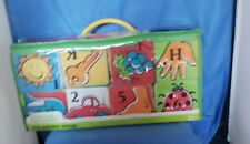 PARENTS MAGIZINE PLAY & LEARN Set of 8 Soft Blocks w/Shapes Rattles Baby Toddler