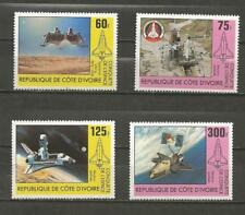 IVORY COAST- 1981 Conquest of Space - MINT UNHINGED SET.