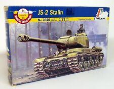 Italeri 1/72 Scale - 7040 JS-2 Stalin Tank Plastic Military Model Kit