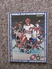 1982 World Cup Soccer Qualifying game Program Canada vs. USA.