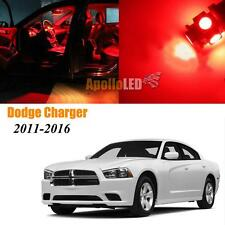 Full Red LED Lights Upgrade Interior Package For 2011-2016 Dodge Charger