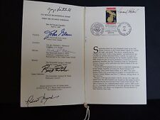 One-of-a-Kind John Glenn Autograph & George Mitchell Robert Byrd Bob Dole FDC