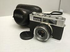 KONICA EE-matic DELUXE camera Hexagon 2,8/40 lens Japan