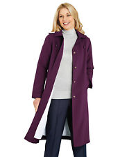 Amalina Fleece Lined Showerproof Coat Jacket Hood Size 16 BNWT RRP £55 Mulberry