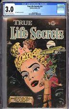 Charlton Comics 1953 True Life Secrets #14 Romance 4 Graded Copies CGC 3.0