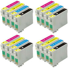 16 INKS FOR EPSON C64 C66 C84 C86 CX3600 CX3650  CX4600 CX6400 CX6600
