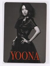 SNSD GIRLS' GENERATION Japan 3rd Tour Love & Peace Official Photo Card YOONA