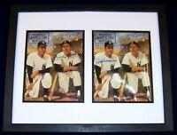 Mickey Mantle & Joe DiMaggio Signed Autographed Baseball Beckett PSA LOA GA COA!
