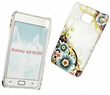 Design 9 Hülle Back Cover für Samsung i9100 Galaxy S2 + Displayschutzfolie
