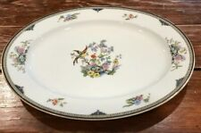 """Noritake China Porcelain Modesta 13.75"""" SERVING PLATTER TRAY"""