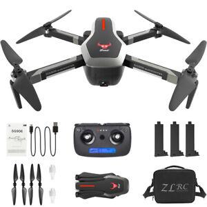 SG906 GPS 5G Wifi Fpv 4K Rc Drone Quadricottero Con Borsa +3 Batteria IT K9N2