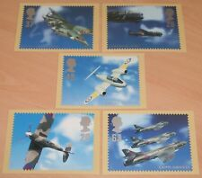 Set of 5 Architects of the Air Royal Mail postcards in mint condition