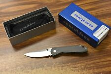 Benchmade 765 Mini Ti Monolock Plain Edge Steel Blade Folding Knife- DAMAGED BOX