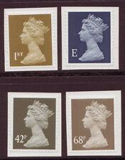 GREAT BRITAIN 2002 SELF ADHESIVE MACHINS SG. 2295-8 UNMOUNTED MINT, MNH