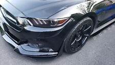 2015-2019 Ford Mustang S550 Side Skirt Extensions (Side Rocker Panel Add-Ons)