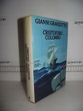LIBRO Gianni Granzotto CRISTOFORO COLOMBO 1^ed.1984 Le Scie Mondadori☺
