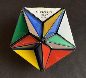 Vintage 1982 Alexander's Star Puzzle