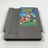 Nintendo NES Wario's Woods Video Game Cartridge Authentic Tested Works