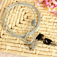 1PC Security key Lock Steel Cable Anti-theft Chain for Laptop Computer Notebook