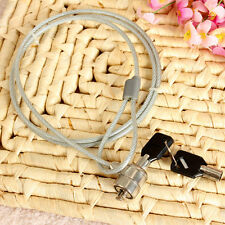 Anti Theft Office Notebook Laptop PC Computer Desk Key Security Lock Chain Cable