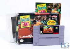 David Crane's Amazing tennis Coffret-Super Nintendo SNES Rétro NTSC