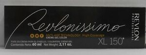 REVLON Revlonissimo ANTI-AGE High CoveragePermanent Creme Gel Color XL 150~60 ml