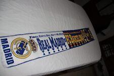 BUFANDA  FUTBOL FINAL COPA DEL REY DEL AÑO 2014 REAL MADRID-FC BARCELONA   SCARF