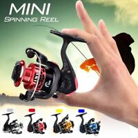 PULLINE Mini Spinning Reels Small Winter Ice Fishing Reel Left / Right Hands