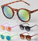 New Cat Eye Round Fashion Sunglasses Shades UV400 Retro Vintage
