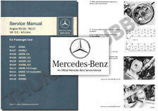 Mercedes M116 M117 V8 Service Workshop Repair Manual w108 w109 w111 r107 w116