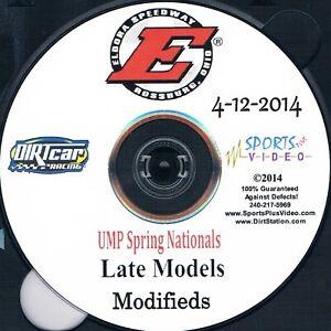 UMP Late Models UMP Spring Nationals DVD From Eldora Speedway 4-12-2014