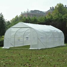 Portable Heavy Duty 20'x10'x7' Walk-In Green House Plant Garden Greenhouse H2