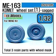 DEF. modello, DS32005, Me163 KOMETA Set Ruota 1 per Meng 1/32