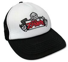 81a360b4227 ROB ZOMBIE - STRANGE UNCANNY BLACK   WHITE TRUCKER CAP HAT NEW OFFICIAL OSFM