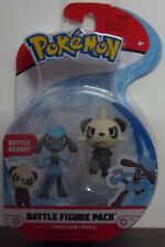 "Pokemon ~ Battle Figure Pack ~ Pancham & Riolu 2"" Figures Character"
