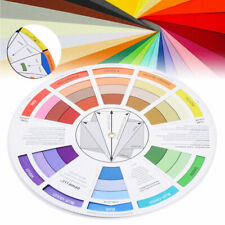 POCKET COLOUR WHEEL TOOL MIXING PAINT LEARNING ARTIST KIDS