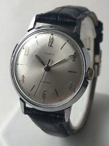 Killer Vintage Original 1966 Timex Marlin Men's Watch Serviced 🇬🇧 Verified Mar